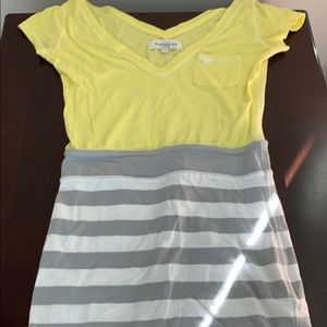Abercrombie and Fitch color block dress size Small
